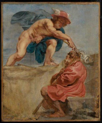 За Меркурий – митологично иметафорично