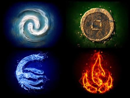 Огън, земя, въздух,вода
