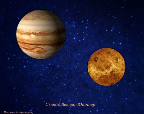 Съвпад Венера-Юпитер